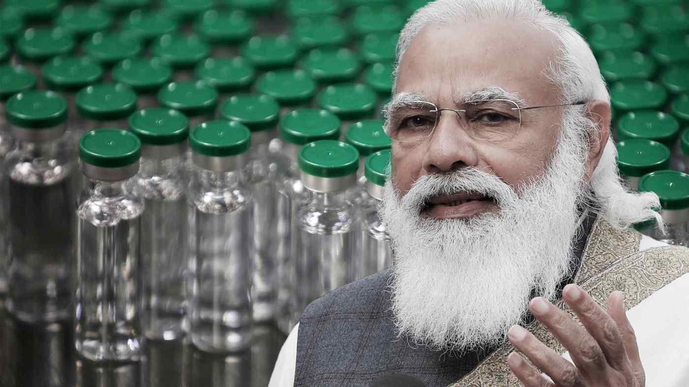 Ấn Độ dưới thời Thủ tướng Narendra Modi đang chuẩn bị nắm bắt cơ hội xuất khẩu vắc xin COVID-19 trị giá khoảng 10 - 11 tỷ USD trong vòng 3 năm tới. (Nguồn ảnh Reuters)