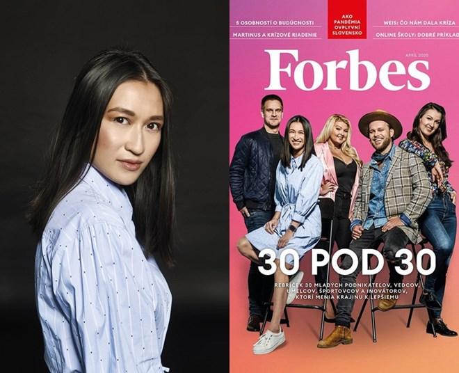 Lucia Thảo Hương Simekova, 27 tuổi, là cô gái Việt đầu tiên được chọn vào danh sách Forbes của Slovakia nhờ xây dựng thành công chuỗi nhà hàng Phở. Nguồn: Internet