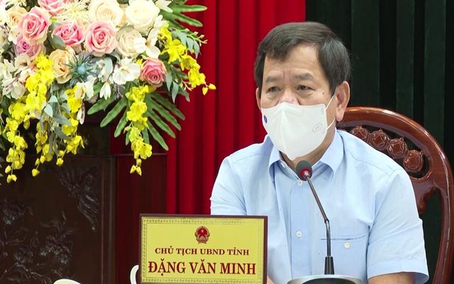 Chủ tịch UBND tỉnh Quảng Ngãi Đặng Văn Minh