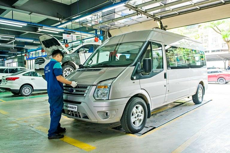 Cùng Ford Việt Nam an tâm chăm sóc xe mùa dịch