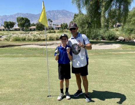 Golfer nhí Jake Martinez lập kì tích hole-in-one