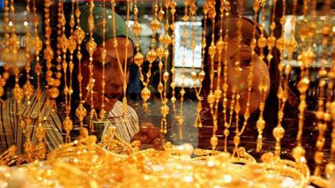 Khu chợ vàng lớn nhất thế giới ở Dubai