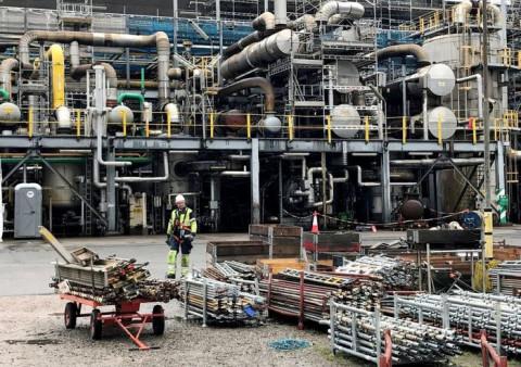 Giá khí đốt tăng gây ảnh hưởng một số ngành công nghiệp nặng và chuỗi cung ứng