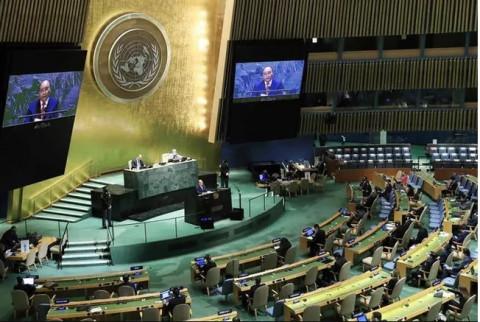 Toàn văn bài phát biểu của Chủ tịch nước Nguyễn Xuân Phúc tại Phiên thảo luận Cấp cao Đại hội đồng Liên hợp quốc lần thứ 76