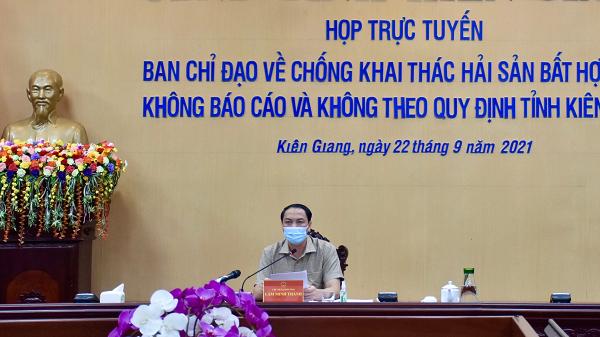 Kiên Giang tăng cường các giải pháp nhằm chấm dứt tình trạng tàu cá vi phạm khai thác hải sản trái phép