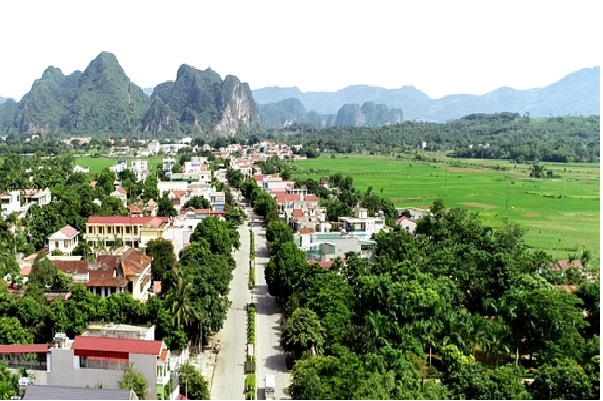 Một góc phát triển của huyện miền núi Ngọc Lặc