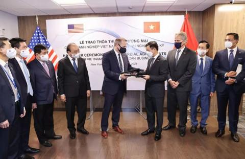 Thúc đẩy các doanh nghiệp Mỹ đầu tư vào Việt Nam
