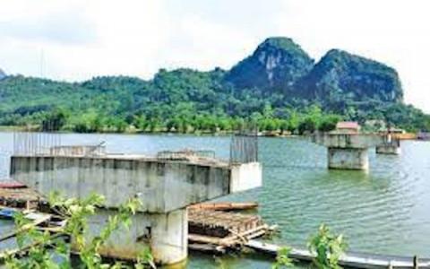 Thanh Hóa: Tiếp tục xây dựng cầu Bến Kẹm