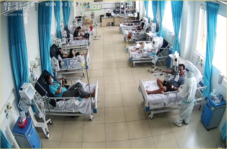 Bệnh nhân COVID-19 điều trị tại BV Hoàn Mỹ Thủ Đức