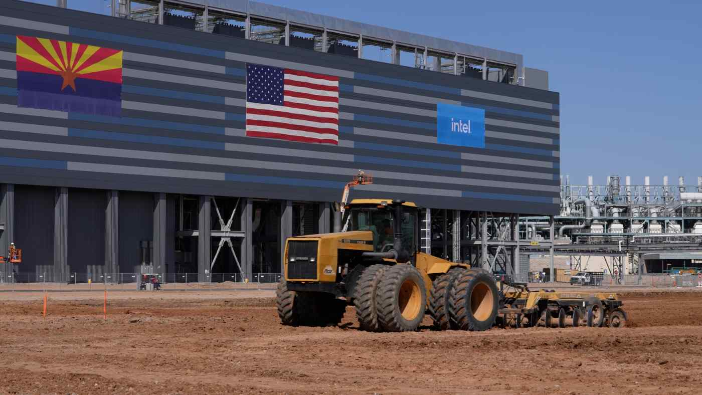Khuôn viên Chandler của Intel, Arizona, sẽ chứa tổng cộng sáu fab sau khi hai quần chip mới đi vào hoạt động hoàn toàn vào năm 2024. (Ảnh do Intel cung cấp)
