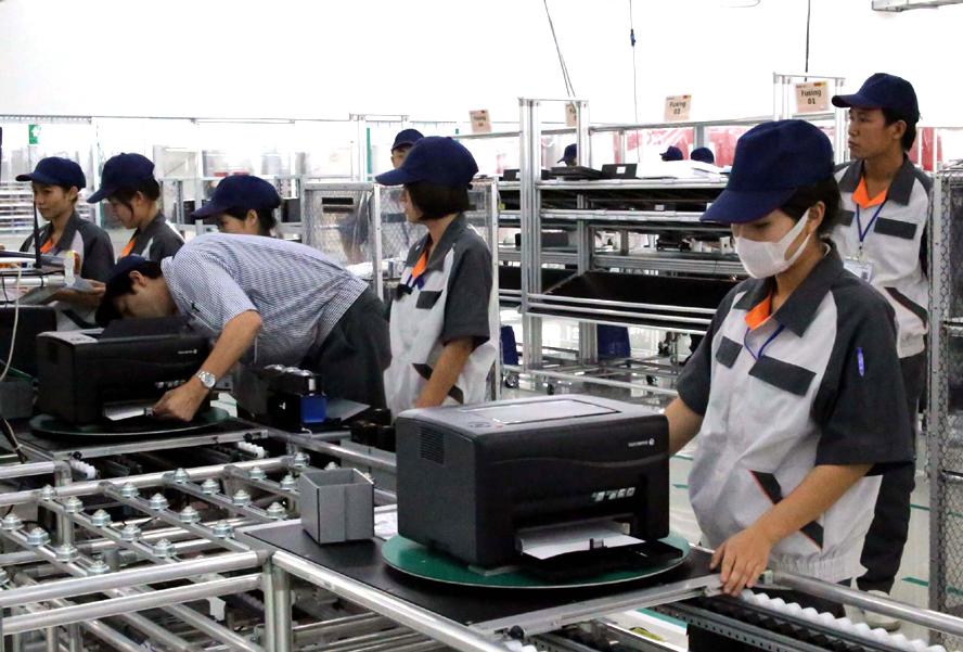 Doanh nghiệp sản xuất có vốn đầu tư nước ngoài