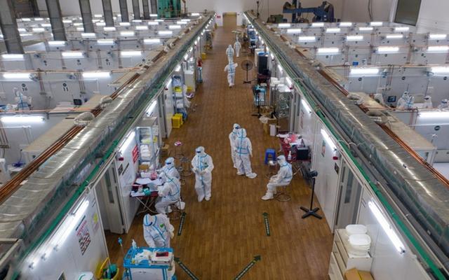 Bệnh viện dã chiến điều trị Covid-19 số 16 ở TPHCM