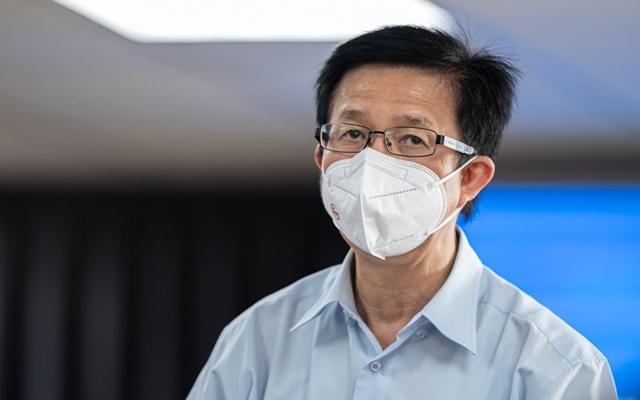 Ông Phạm Đức Hải, người phát ngôn của Ban Chỉ đạo phòng, chống dịch Covid-19 TP Hồ Chí Minh