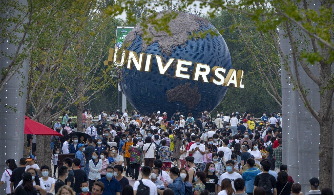 Công viên giải trí Universal tại Bắc Kinh mở cửa trở lại trong tháng này