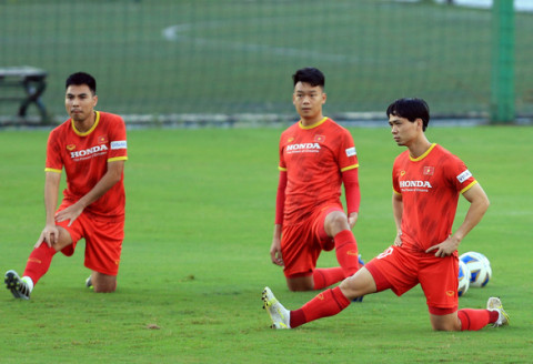 Cầu thủ Công Phượng sau 3 trận đấu, ghi 4 bàn thắng cho đội tuyển Việt Nam