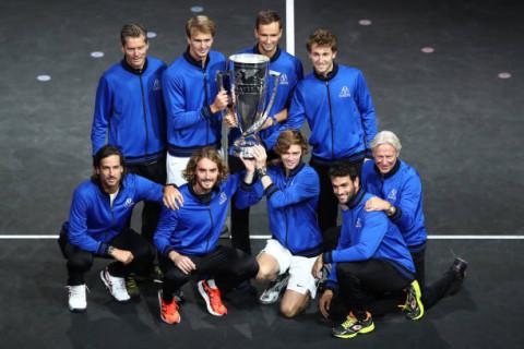 Đội châu Âu chính thức vô địch giải Laver Cup 2021