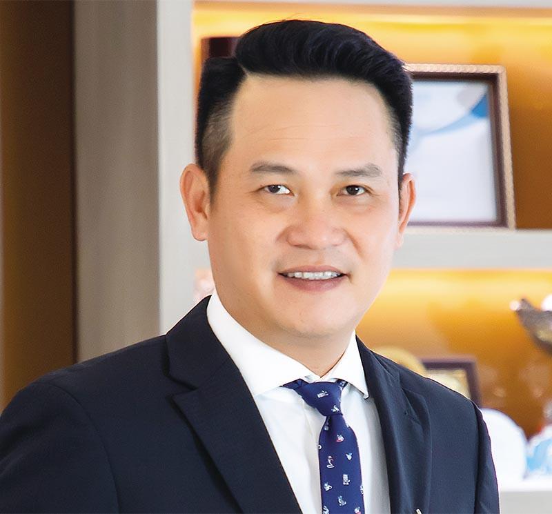 Ông Đặng Hồng Anh, Chủ tịch Hội Doanh nhân trẻ Việt Nam