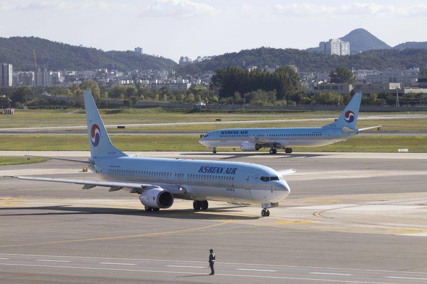 Mọi hy vọng về việc đi lại bằng máy bay ở Hàn Quốc đã tan thành mây khói khi Covid-19 quay trở lại với một sự báo thù. ẢNH: BLOOMBERG