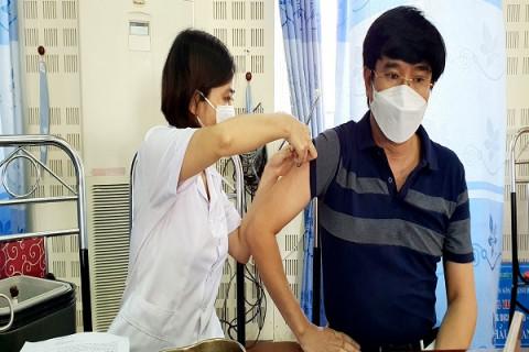 Thanh Hoá: Triển khai kế hoạch tiêm 58.500 liều vaccine trong đợt 9
