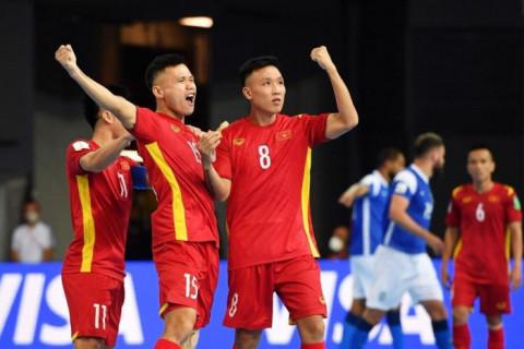 Đội tuyển Futsal Việt Nam có sự thăng tiến trên bảng xếp hạng Futsal thế giới