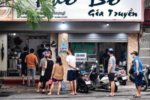 Hà Nội cho phép một số ngành kinh doanh, dịch vụ được hoạt động trở lại