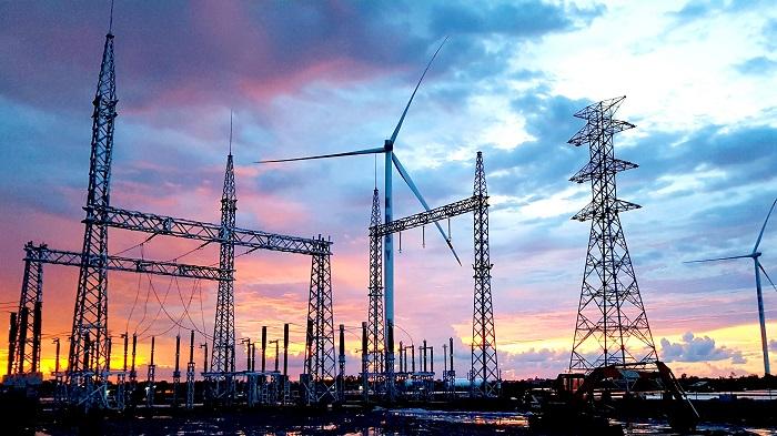Trạm biến áp nhà máy Điện gió Kosy Bạc Liêu