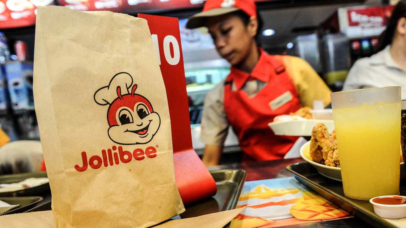 Những người Philippines làm việc ở nước ngoài đã giúp chuỗi Jollibee lan rộng ra toàn cầu, đặc biệt là ở Mỹ và Trung Đông. © AFP / Jiji