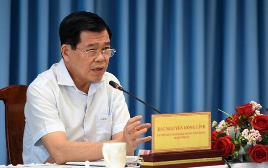 Ông Nguyễn Hồng Lĩnh - bí thư Tỉnh ủy Đồng Nai nhấn mạnh không được bỏ sót đối tượng trong gói an sinh xã hội theo Nghị quyết 68 của Chính phủ
