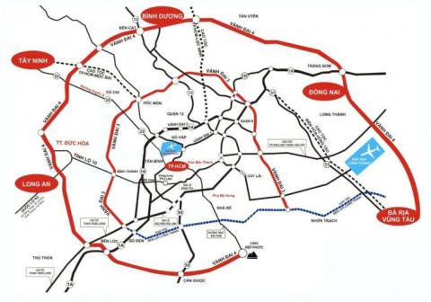 5 địa phương sẽ triển khai các dự án của đường Vành đai 4 TP. Hồ Chí Minh