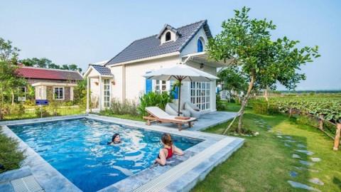 Rresort, villa quanh Hà Nội mở cửa đón khách