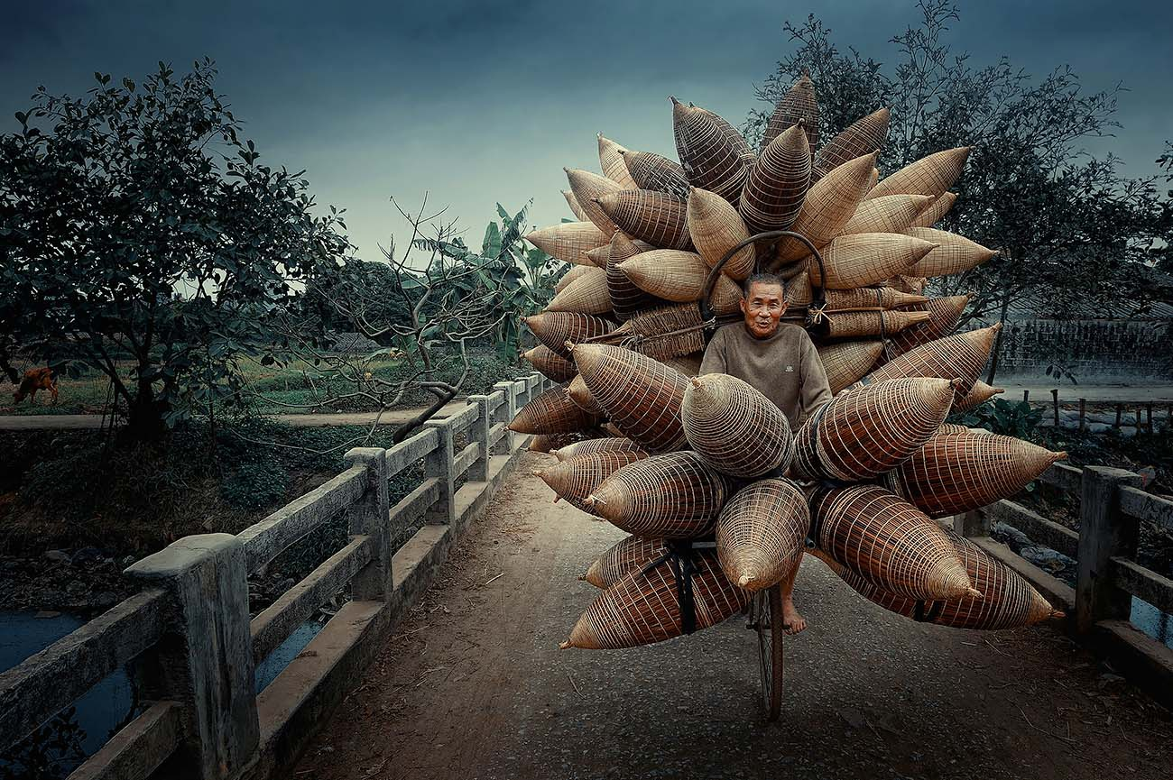 'Người bán đó' của Việt Nam vào top ảnh du lịch đẹp nhất năm