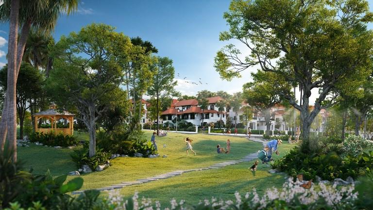 Sun Tropical Village - Ngôi làng nhiệt đới giữa biển rừng Bãi Kem. (Ảnh phối cảnh minh họa)