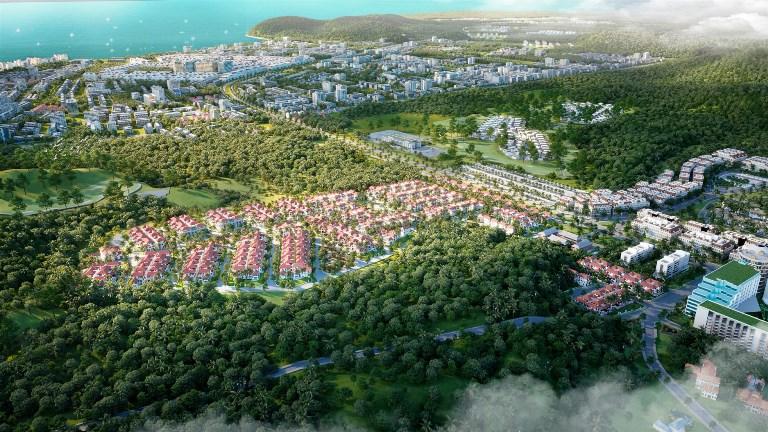 Sun Tropical Village ghi nhận tỷ lệ đặt chỗ kỷ lục của khách hàng thân thiết. (Ảnh phối cảnh minh họa)