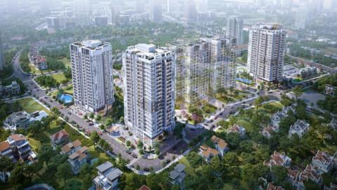 Săn lùng căn hộ giữa trung tâm mới của Hà Nội