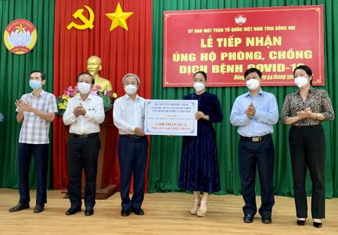 """Doanh nghiệp tiếp sức cùng Đồng Nai """"vượt bão Covid-19"""""""