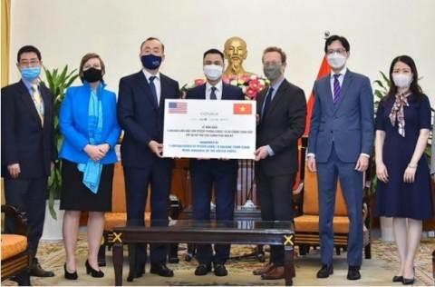 Mỹ là quốc gia cung cấp vaccine phòng Covid-19 lớn nhất cho Việt Nam