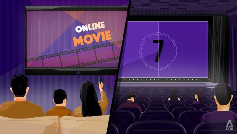 """Phải chăng đại dịch Covid-19 đã """"giết chết"""" ngành phim chiếu rạp của Singapore?"""