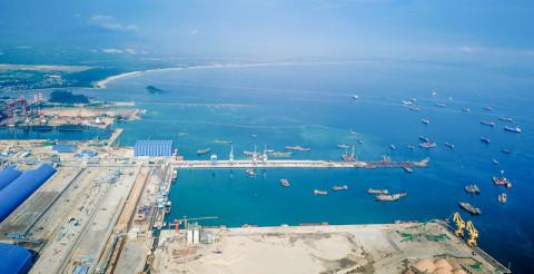 Quảng Ngãi sẽ điều lực lượng bảo vệ để thi công Dự án cảng tổng hợp – container Hòa Phát Dung Quất