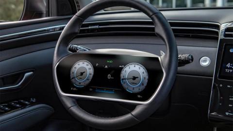 Hyundai đăng ký bản quyền công nghệ màn hình gắn vô lăng