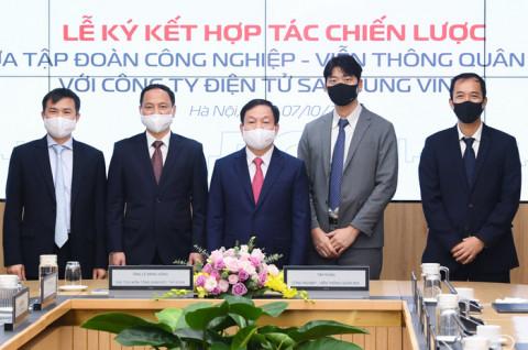 Samsung và Viettel hợp tác hướng tới kiến tạo nền kinh tế số quốc gia