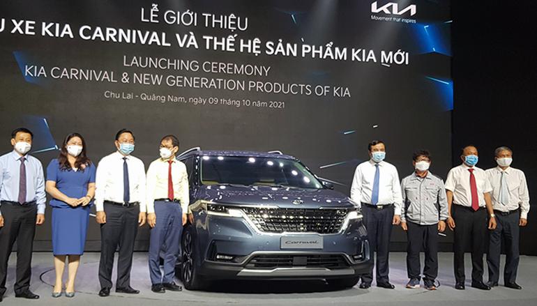 Thaco Auto công bố thế hệ ôtô mới của thương hiệu KIA tại Việt Nam