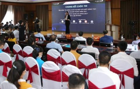 Nghệ An: Khai mạc vòng Chung kết Tìm kiếm tài năng khởi nghiệp đổi mới sáng tạo mở rộng 2021