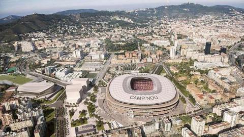 Barcelona tính vay thêm 1,5 tỉ Euro để sửa sân Camp Nou
