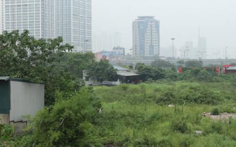 Hà Nội rà soát dự án đã giao đất nhưng chưa sử dụng
