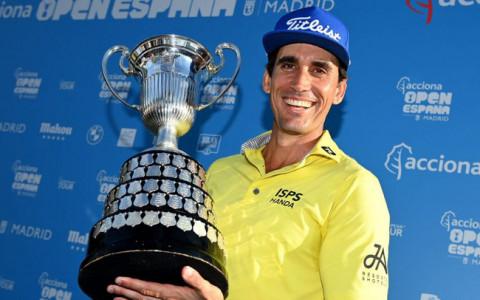 Golfer Cabrera Bello vô địch giải golf Tây Ban Nha mở rộng