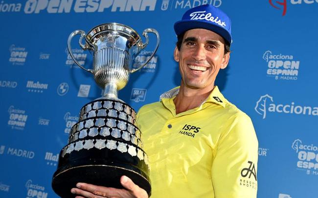 Cabrera Bello vô địch giải golf Tây Ban Nha mở rộng. Nguồn: Internet