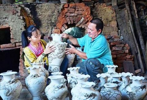Gốm Mỹ Thiện mang giá trị văn hóa xứ Quảng