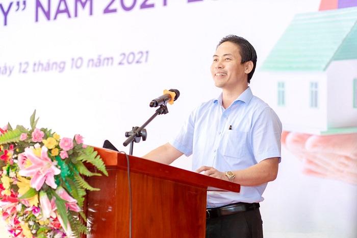 Chủ tịch Tập đoàn Kosy, ông Nguyễn Việt Cường phát biểu tại buổi lễ