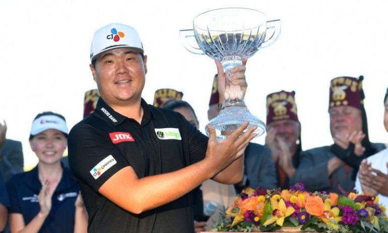 Im Sung-jae nâng Cup vô địch ở Shriners' Children Open 2021