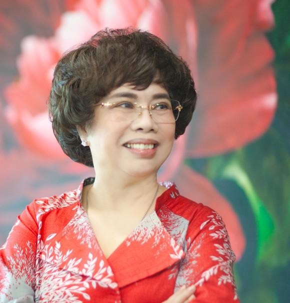 Bà Thái Hương, Chủ tịch Hiệp hội Nữ doanh nhân Việt Nam.